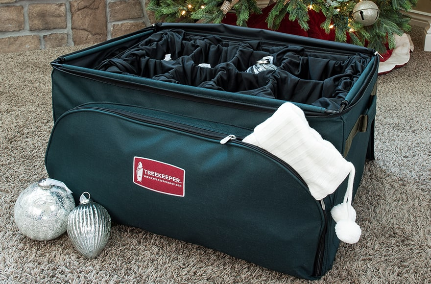 TreeKeeper Bags Adjustable Tray Ornament Storage Bag