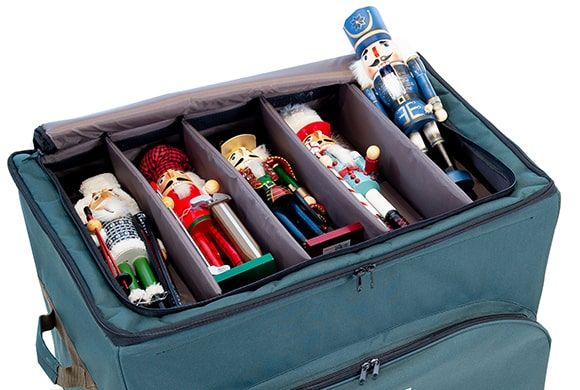 TreeKeeper Bags Top Pocket Three Tray Ornament Storage Bag