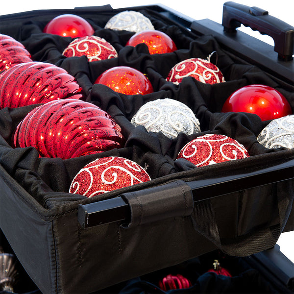 Adjustable Telescoping Ornament Storage [120 Ornaments]
