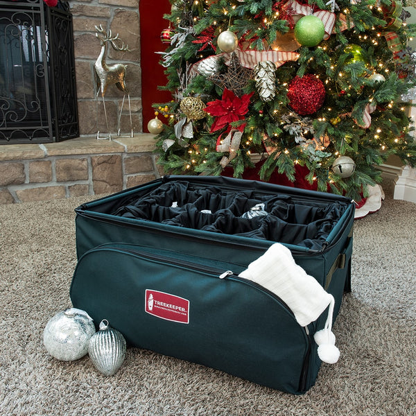 Adjustable Tray Ornament Storage Bag [48 Ornaments]