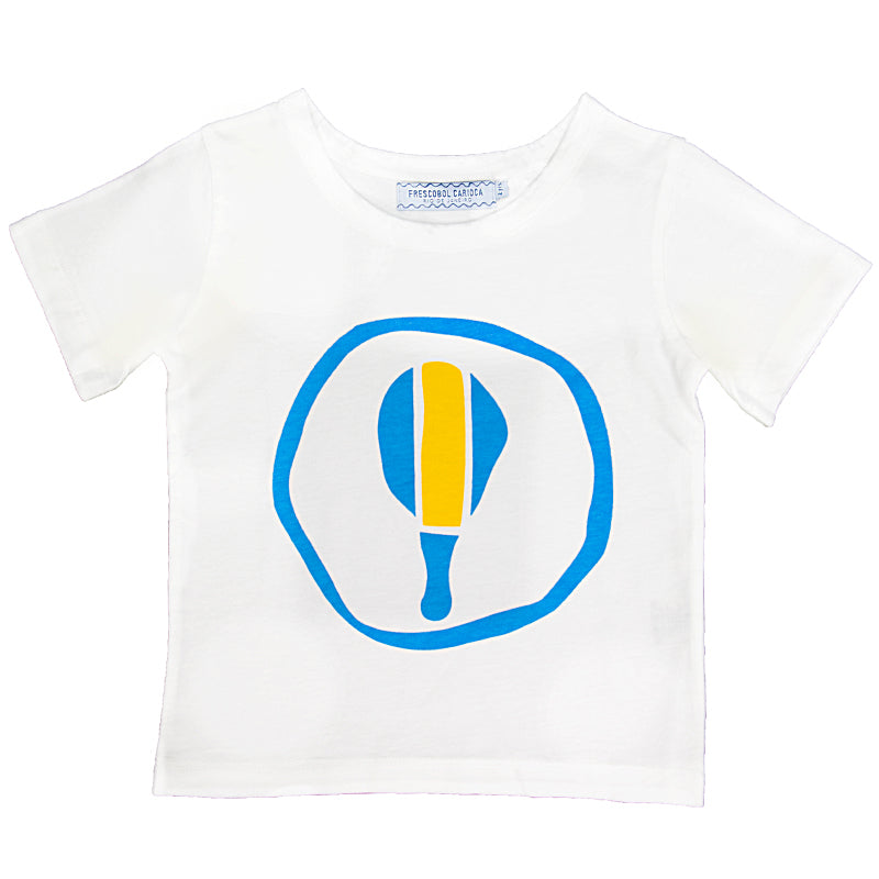 Boys White Bat T-Shirt