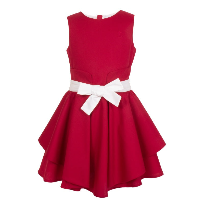Girls Red Special Occasion Dress