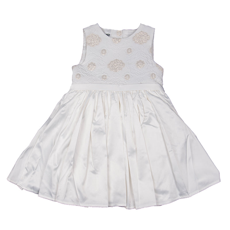 Baby Girls Ivory & Gold Dress