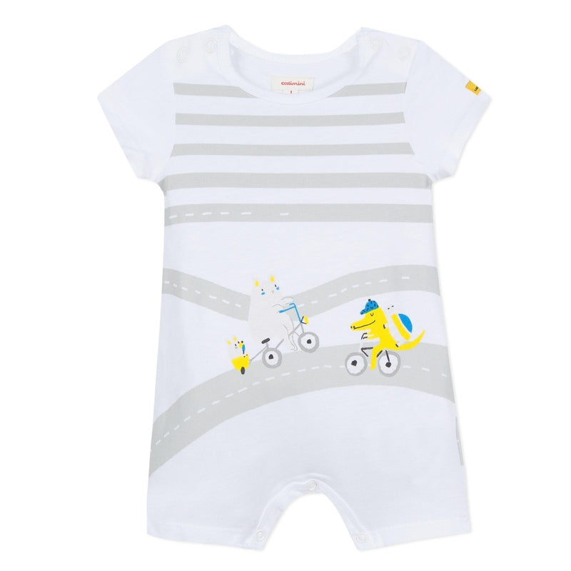 Baby Boys Jersey Playsuit
