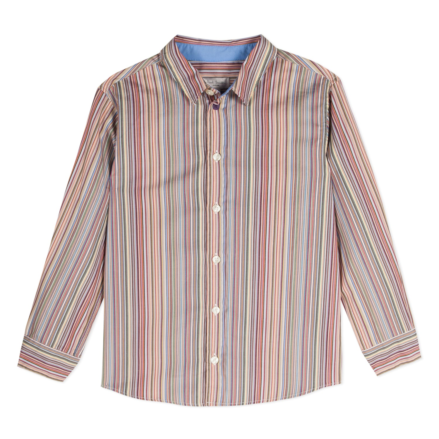 Boys Striped Cotton Shirt