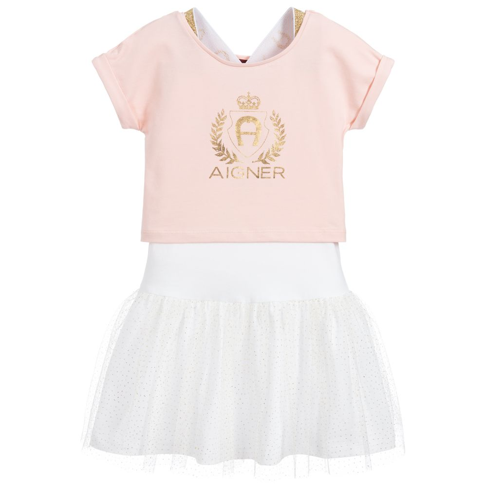 Girls Two Piece Dress Set