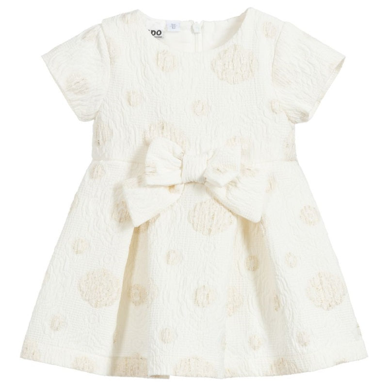 Baby Girls Ivory Special Occasion Dress