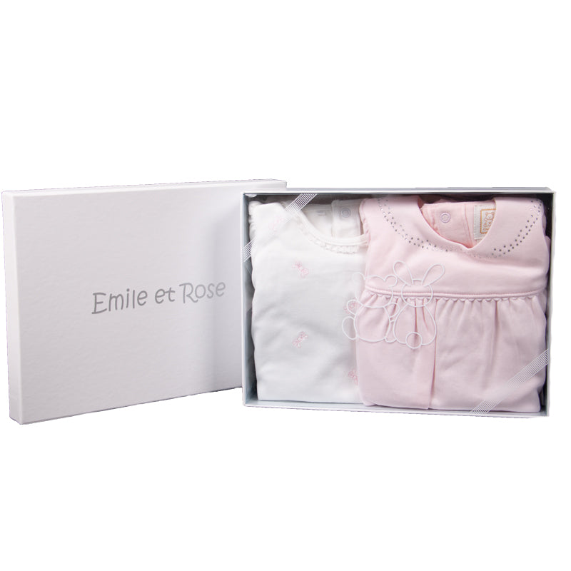 Baby Girls Pink Gift Set