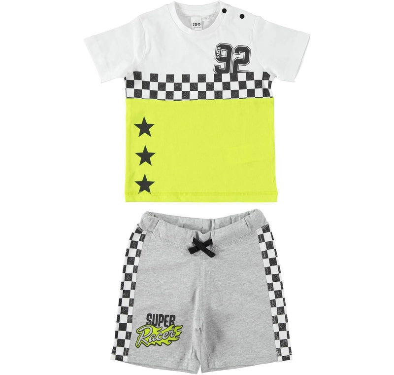 Boys Cotton Shorts Set - Junior Couture