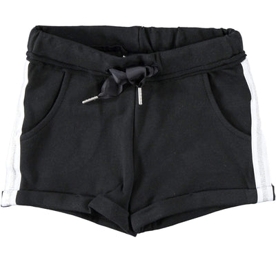Girls Black Shorts - Junior Couture