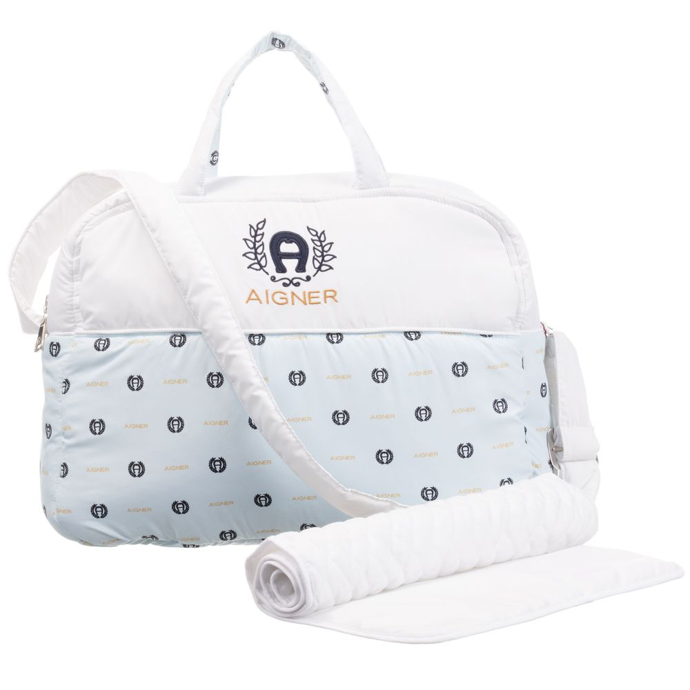 Baby Boys Pale Blue Changing Bag