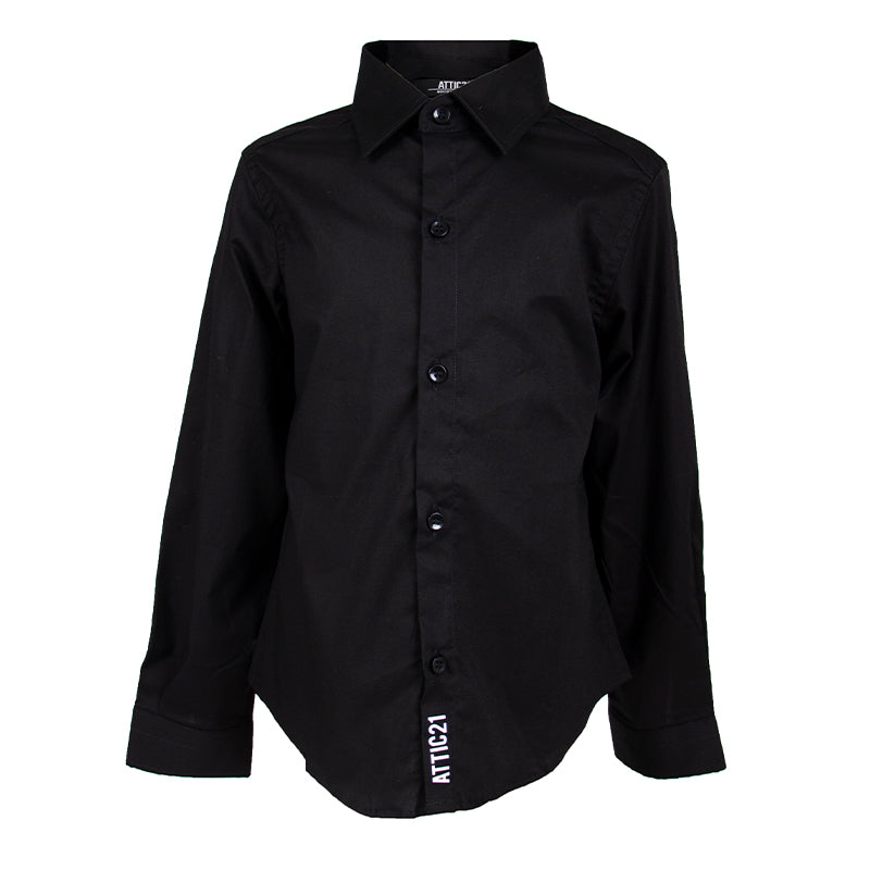 Boys Black Shirt