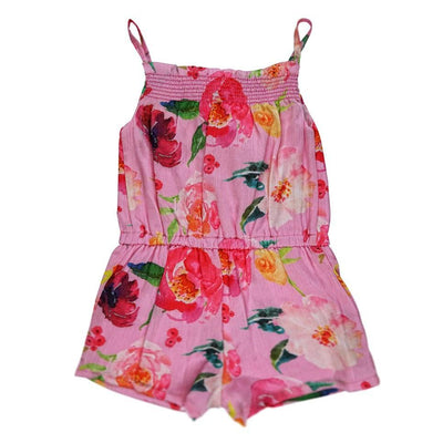 Girls Floral Playsuit - Junior Couture