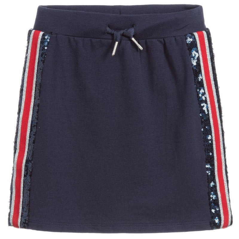 Girls Navy Blue Skirt