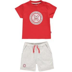 Boys Cotton Top & Shorts Set - Junior Couture