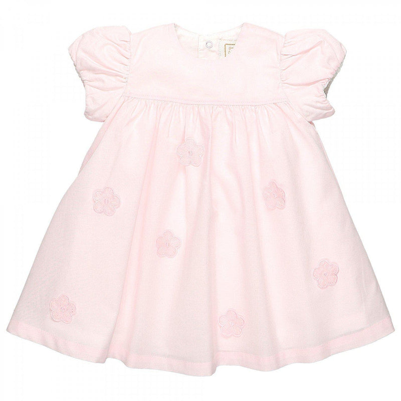 Pandora Baby Girls Pink Cotton Dress Set