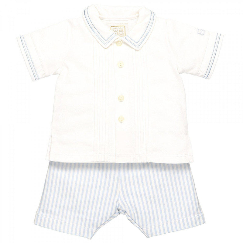 Pedro Baby Boys Shirt and Short Set