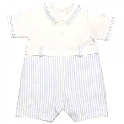 Pickford Baby Boys Blue Traditional Romper