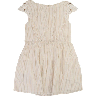 Girls Ivory Cotton Dress