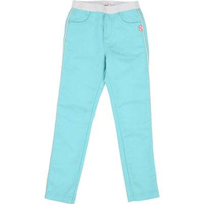 Girls Turquoise Jeggings