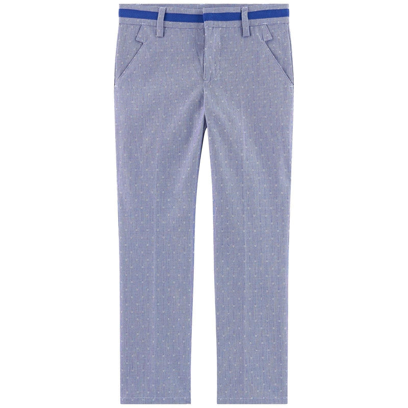 Boys Blue Chino Trousers