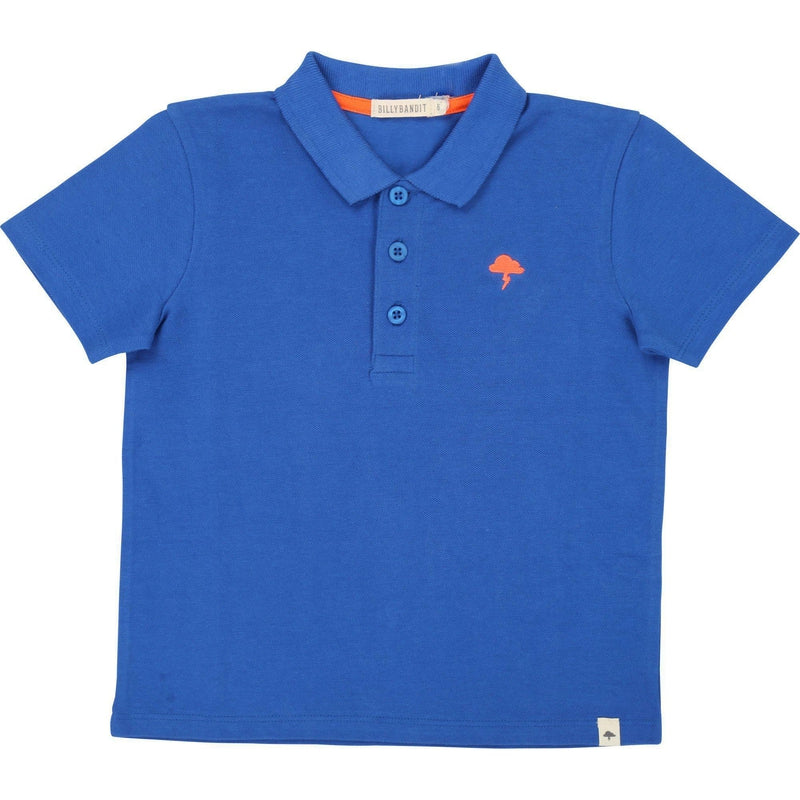Boys Electric Blue Polo Shirt