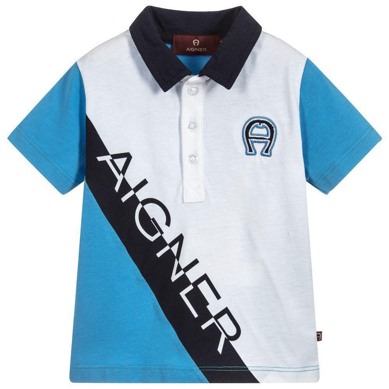 Baby Boys Blue Polo Shirt