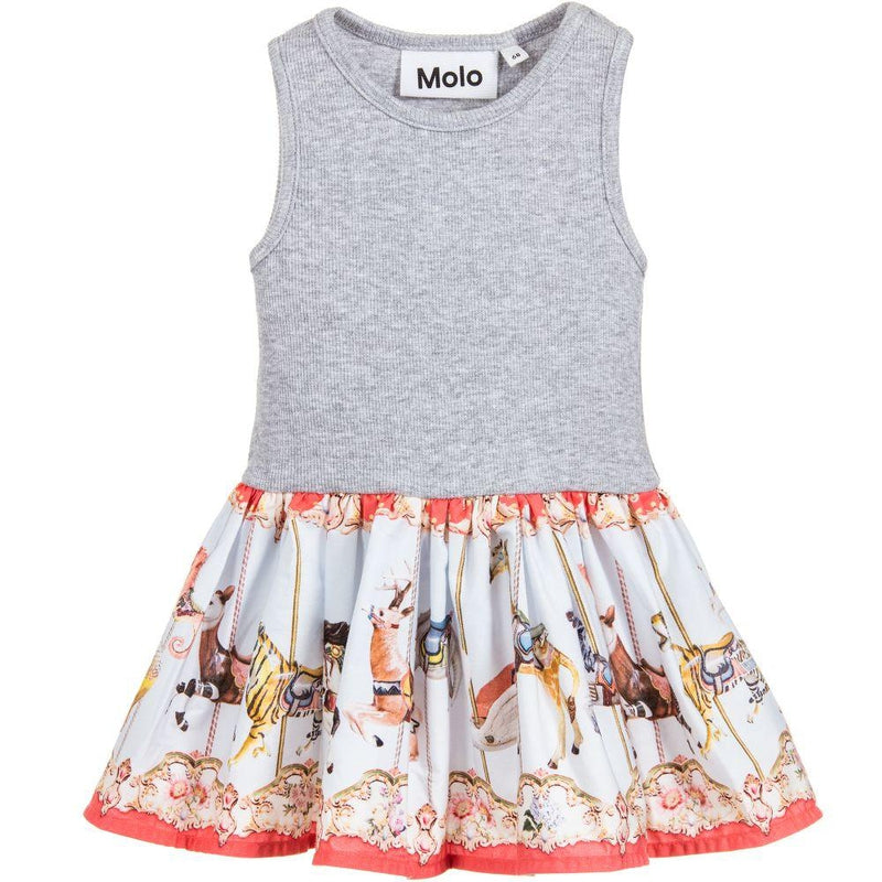 Baby Girls Coral Cotton Dress