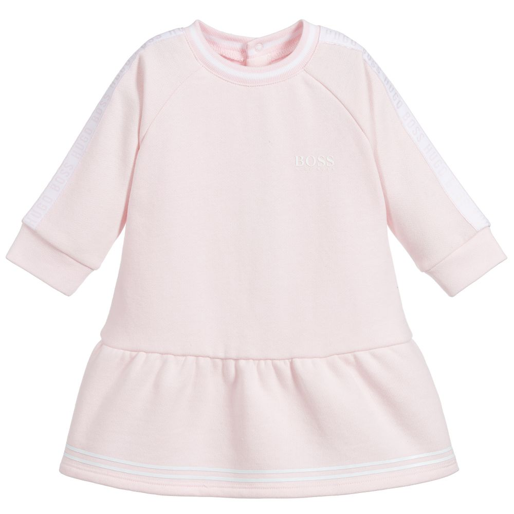 Baby Girls Pink Jersey Dress