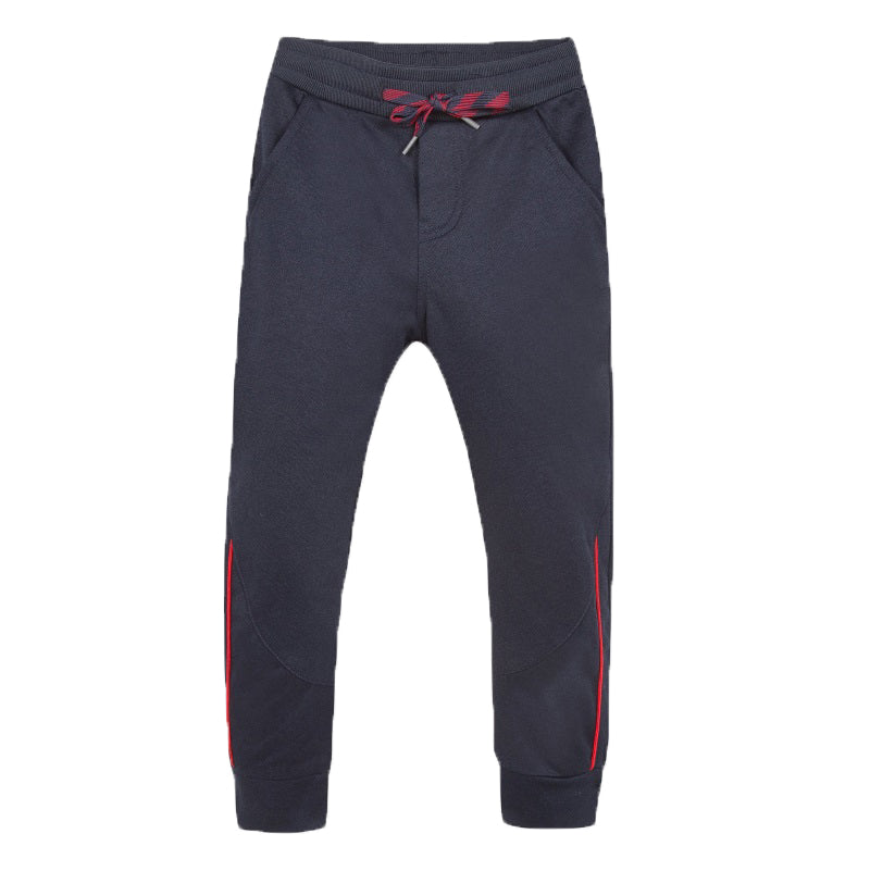 Boys Navy Jersey Trousers
