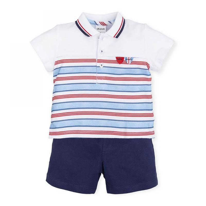 Boys Blue Two Piece Set