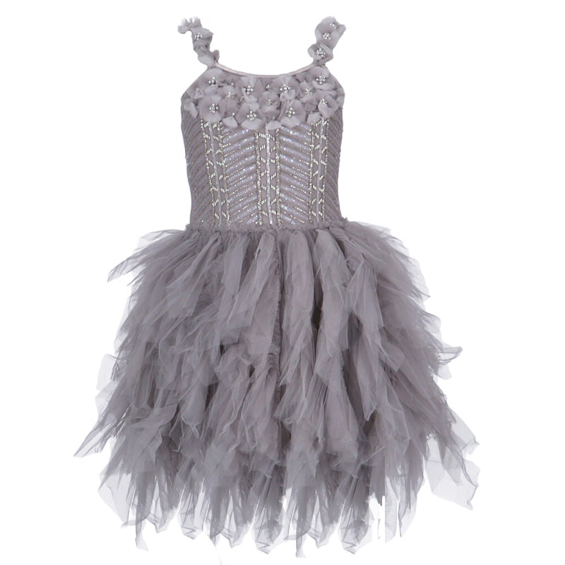 Girls Grey Captivating Emma Dress