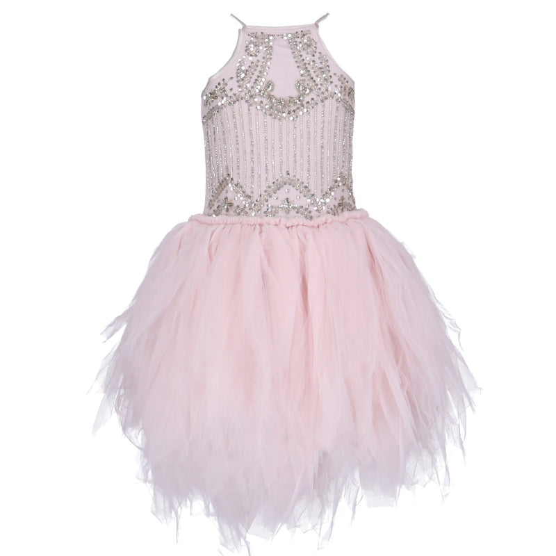 Girls Pink La Vivandiere Dress