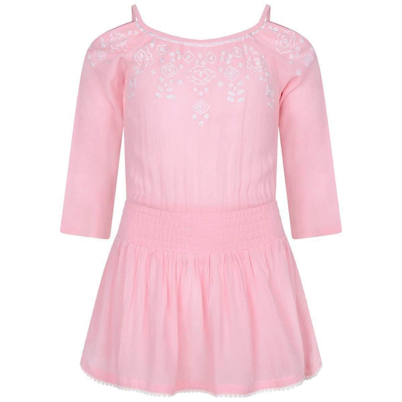 Girls Pink Gelati Dress - Junior Couture