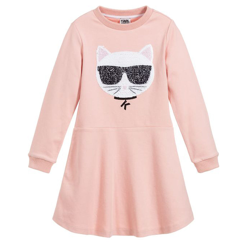 Girls Pink Choupette Dress