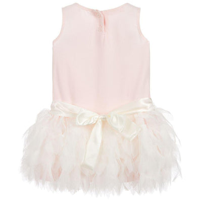 Girls Ballet Slipper Tulle Dress - Junior Couture