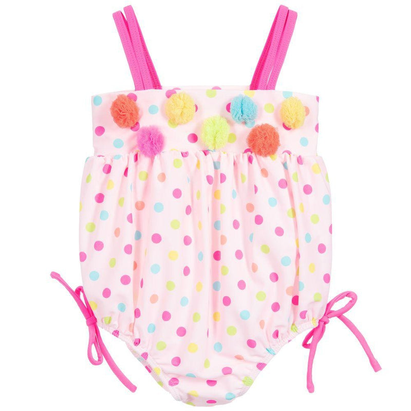 Baby Girls Polka Dot Swimsuit - Junior Couture