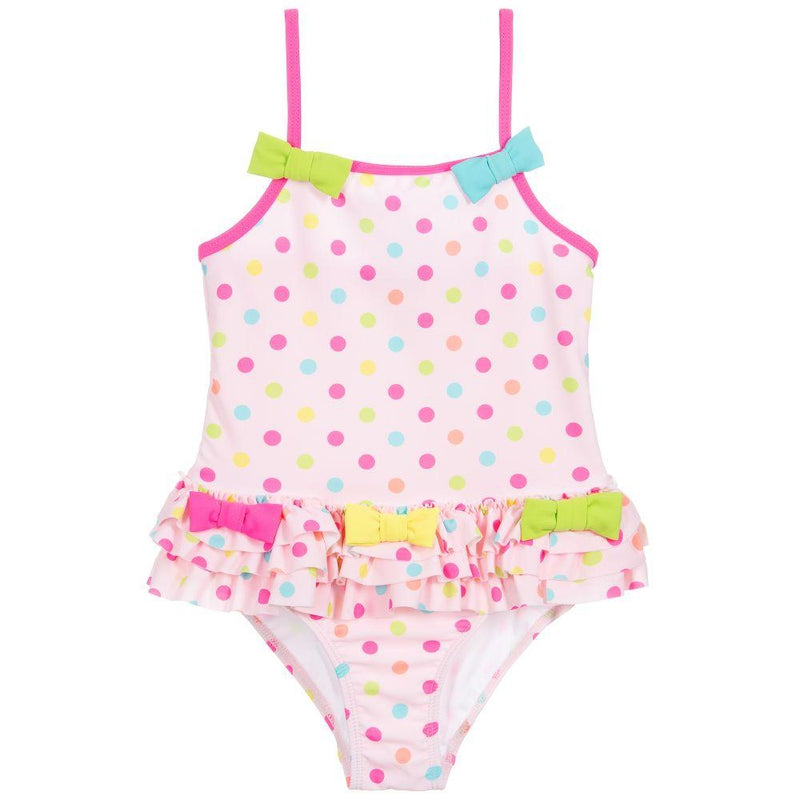 Girls Polka Dot Swimsuit - Junior Couture