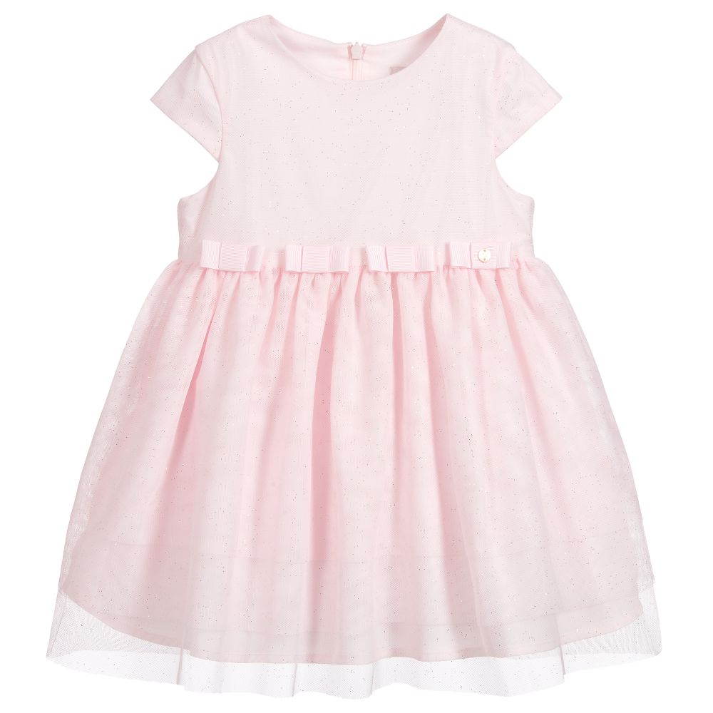 Baby Girls Pink Tulle Dress