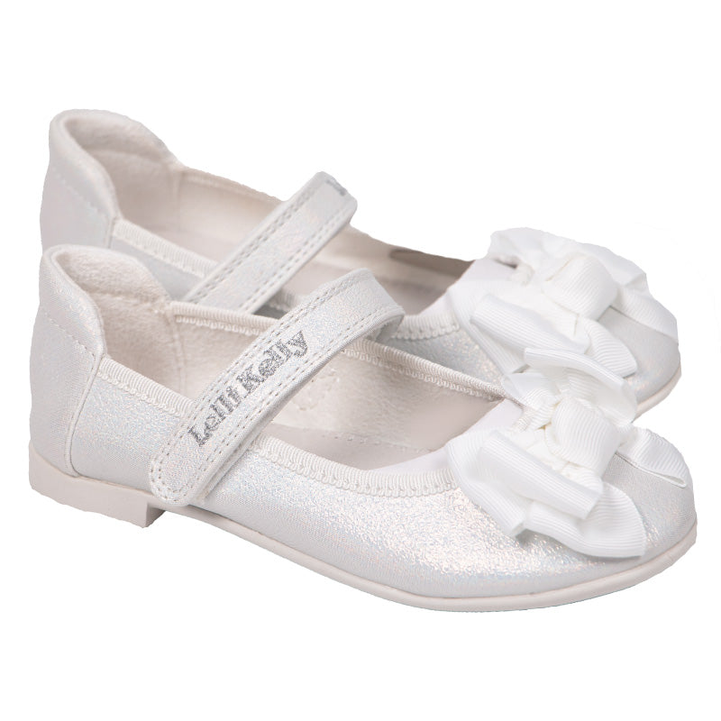 Girls White Aurora Shoes