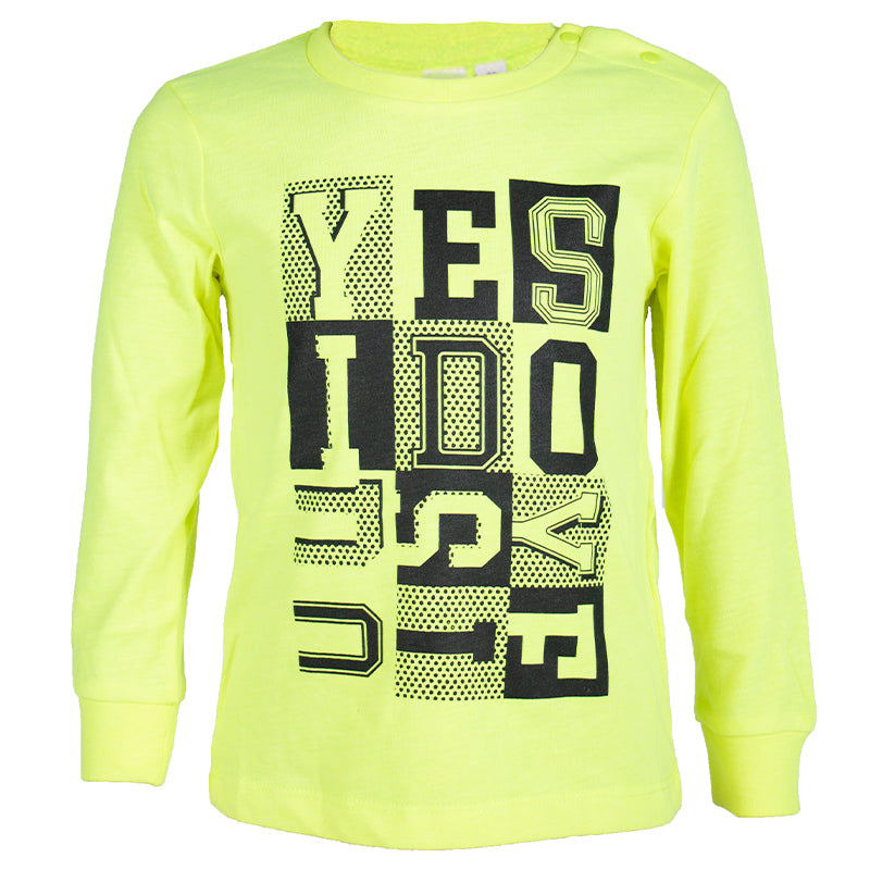 Boys Neon Green T-Shirt