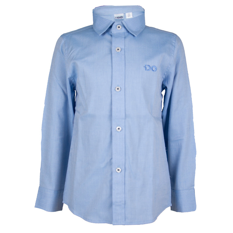 Boys Blue Long Sleeves Shirt