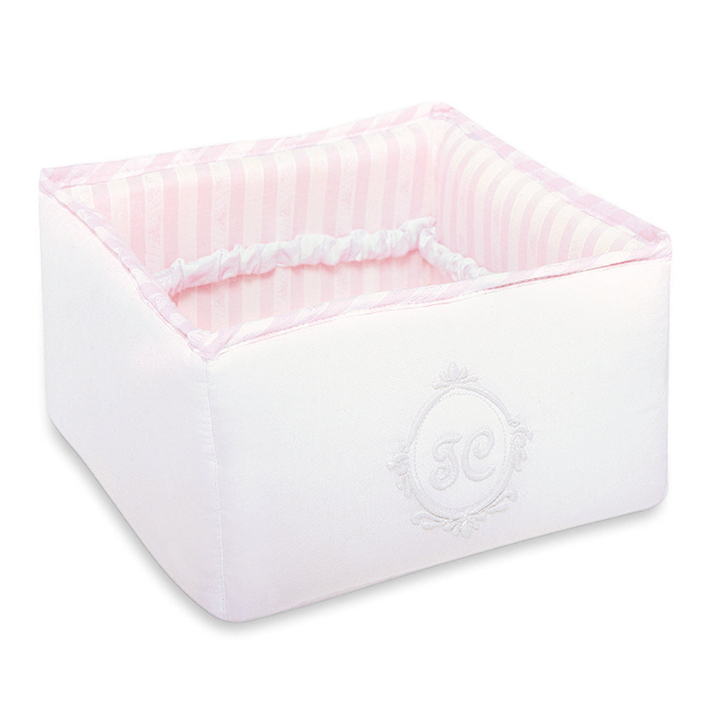 Baby Girls Pink Accessory Basket