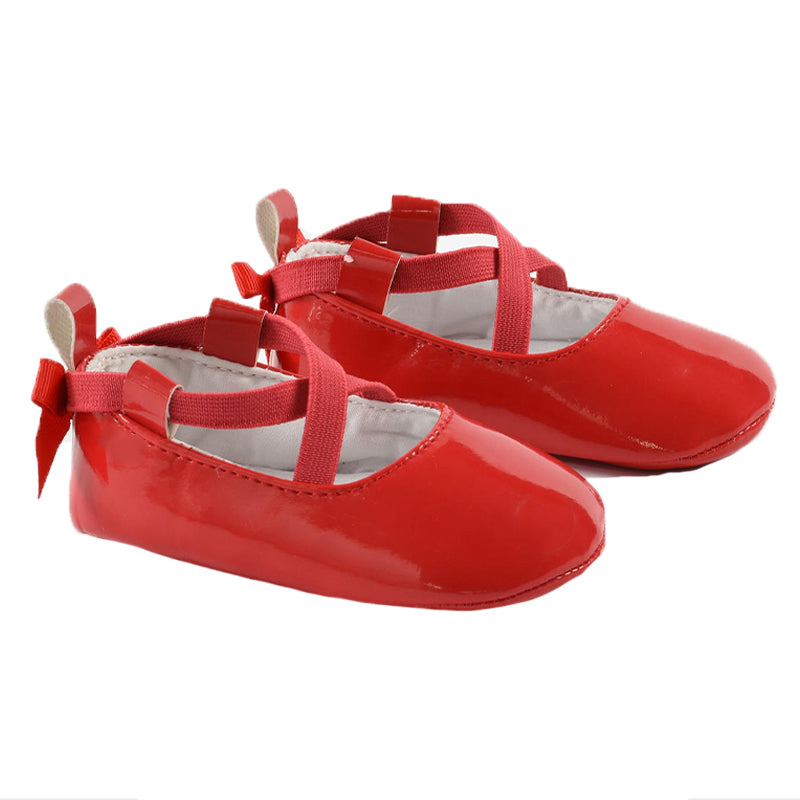 Baby Girls Red Patent Shoes