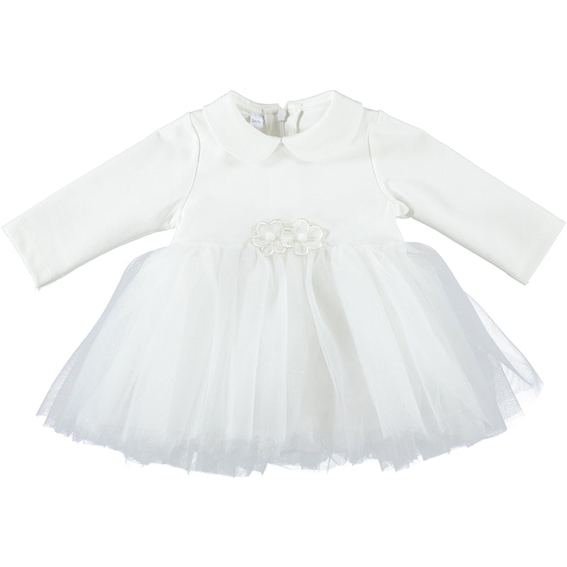 Baby Girls White Special Occasion Dress