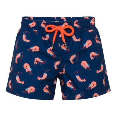 Boys Navy Shrimp Swim Short - Junior Couture