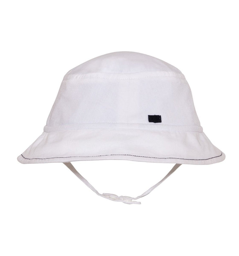 Baby Boys White Bucket Hat - Junior Couture