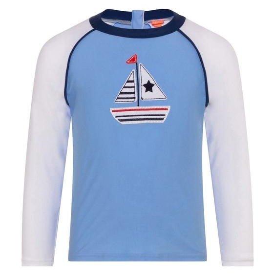 Baby Boys Little Boats Rash Vest UPF 50+ - Junior Couture