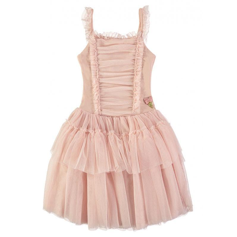 Girls Blush Pink Steffi Dress