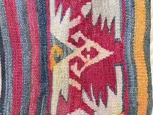 The Hands on the Hips - Kilim Bohemian Pillow Cover